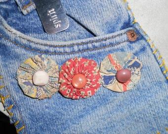 Spirit Road  Vintage Child's Jeans Pocket Purse