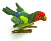 Lovebird Needlefelt Sculpture