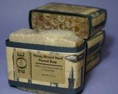 Honey Almond Hand Poured Soap