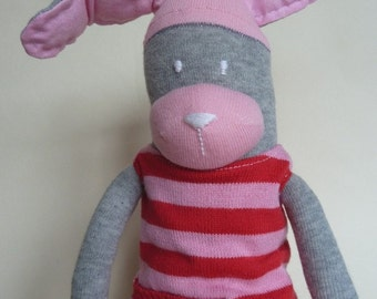 Pretty Little Sock Rabbit