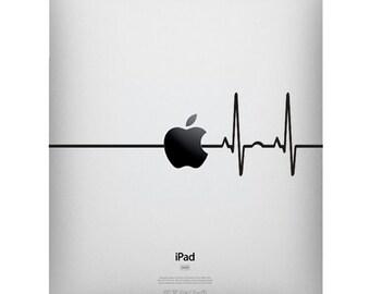 SALE IPad  Heart Beat Line Apple - Stickers Macbook ,Laptop ,IPad Love Decals- Buy 2 get 1 Free