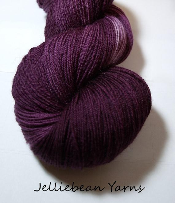 Damson Blue Faced Leicester Sock Yarn