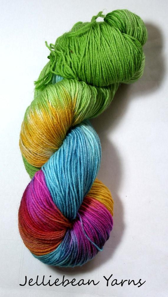 Hawaii Blue faced Leicester sock yarn