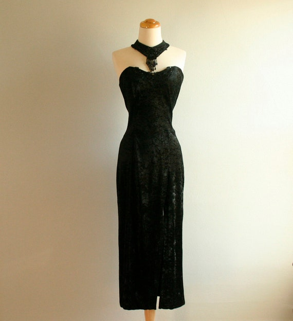 80s Evening Dress Size M