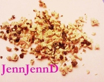 0.3oz Fake Chopped Nuts (for kawaii crafts, decoden, and more)