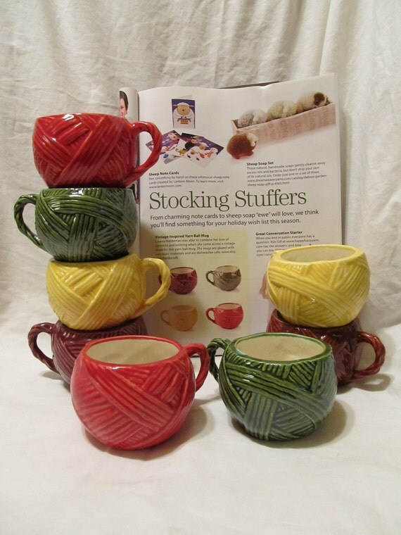 Neatly Wrapped Yarn Mug (pre-order for May)