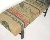 Coffee Sack Bench - Guatemala