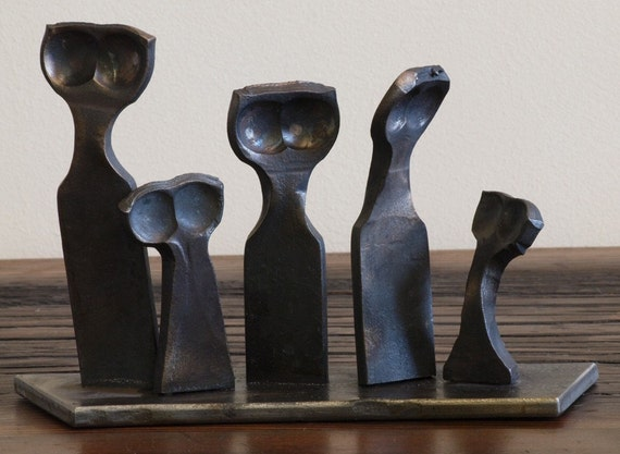 """Little Iron People - Extra Figure - Only as an addition for our """"Little Iron People"""" sculpture"""