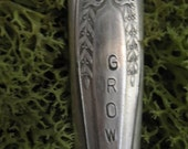 GROW Recycled vintage flatware (knife) plant marker