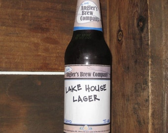 beer labels - custom home brew labels -with space to put in batch info