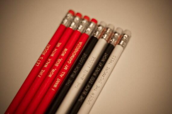 Twin Peaks Black Lodge Pencils