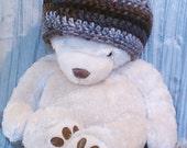Crochet Beanie - Coffee Beans - Chemo Cap