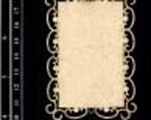 Dusty Attic Chipboard  - ATC sized mixed frame set (3 per pack) DA0691