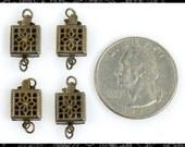 Set of Four Antique Box Clasps   CL2