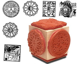 Alchemy Astrology Mounted Set of Stamp Set of Six * RS:AARS