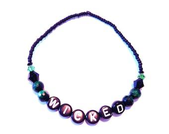 WICKED Beaded Bracelet