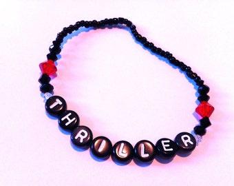 THRILLER Beaded Bracelet