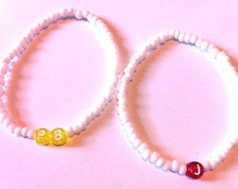 PB & J Friendship Bracelets