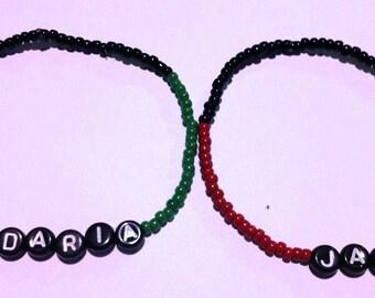 DARIA & JANE Beaded Friendship Bracelets