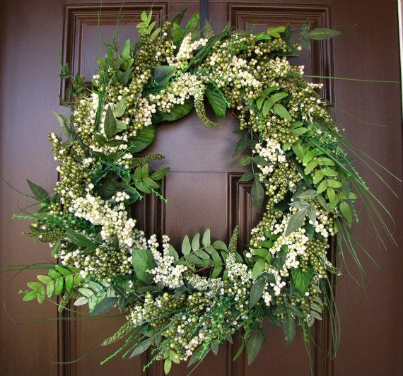 Year Round Berry and Greenery Wreath