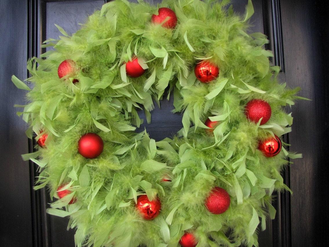 Square Deco Mesh Wreath