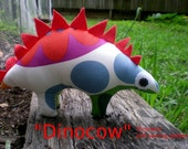 Dinocow Dinosaur- pdf sewing pattern