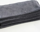 Organic Bamboo PaperLess Towels: Charcoal with snaps