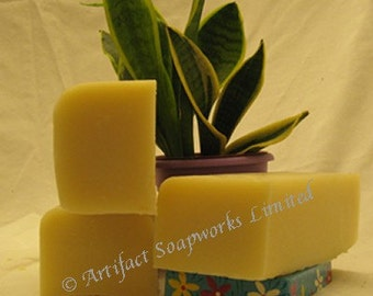 2lb Acai Mangosteen Shea Butter Olive Oil Soap Loaf - Vegan Friendly