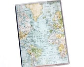 PASSPORT COVER - Old World Map