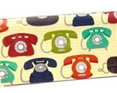 CHECKBOOK COVER - Rotary Telephones