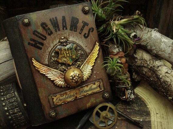 RESERVED for Nicole Hallberg - Quidditch Handbook Palm Size Journal