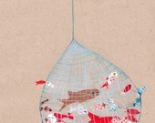 Sea Net (giclee print)