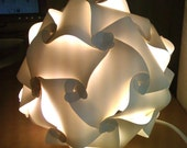 Champagne Tessellation Lantern