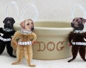 Dog Ornament Labrador Retriever Pesonalized With Your Dogs Name