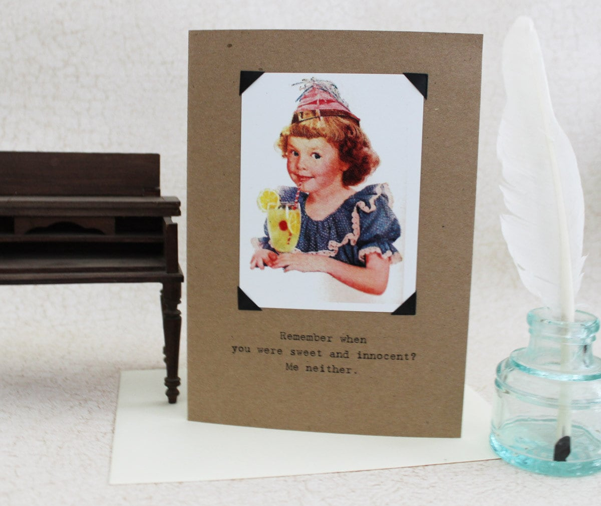 funny birthday card for her remember when sassy saying, Birthday card