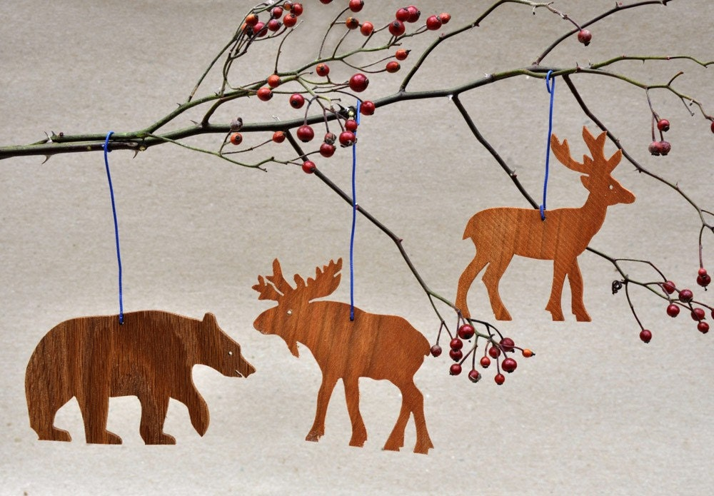 Woodland Animal Ornaments Templates Mobiles for Babys