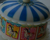 merry go round - carousel chimed plastic toy