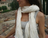 Cotton Scarf, Pure Cotton Muslin Shawl Scarf Super Soft Fresh Pashmina
