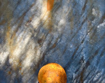 Cannonball 30 x 40 Abstract Fine Art Photograph Giclee Print on Stretched Canvas