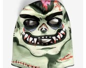 Frankenmonster Mask (100% Organic Cotton Knit) ADULT or KID size