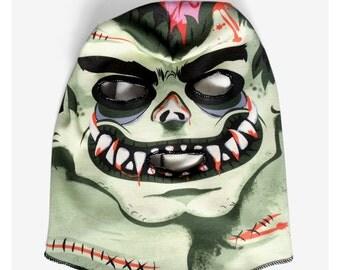 Frankenmonster Zombie Mask (100% Organic Cotton Knit)