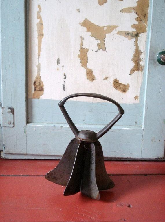 Antique Cast Iron Metal Food Chopper