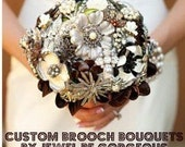 Vintage Chic Custom Brooch Bouquet - Your Brooches
