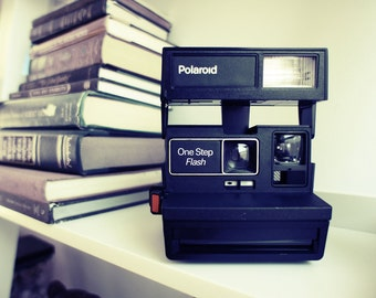 Polaroid Camera OneStep Flash - Film Tested Working