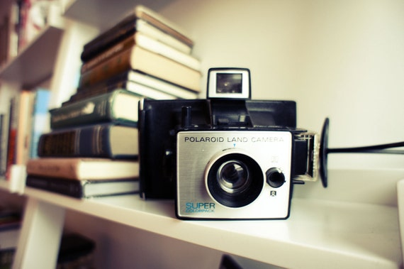 Super ColorPack Working Polaroid Camera - Film Tested