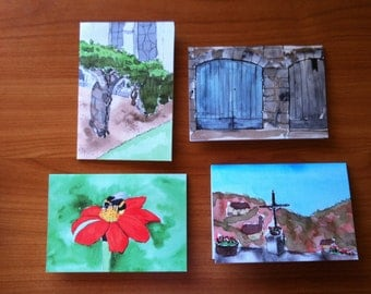 Greeting Cards - Scenes from France - Set 2