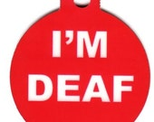 Pet Tag I'm Deaf