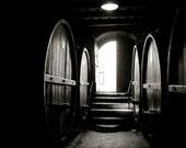 BOGO Wine Barrels, The Stairway - 5x7 Fine Art Photograph