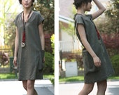 Air of Simplicity Dress with Big Pockets/ Any Size/ 23 Colors/ RAMIES