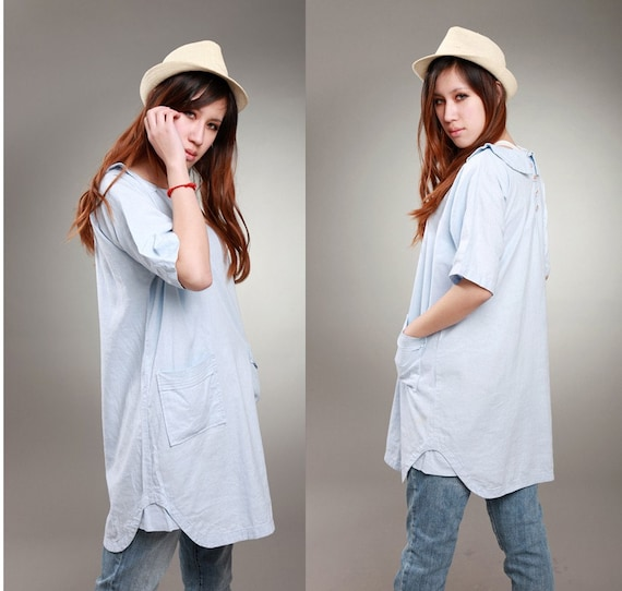 Lovely Long Linen  Dress/ Any Size/ 27 Colors/ RAMIES